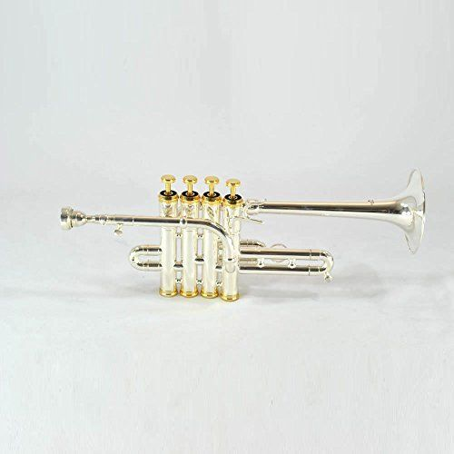 Schiller Elite Model V - 4 Valve Piccolo Trumpet >>> Want additional info? Click on the image.