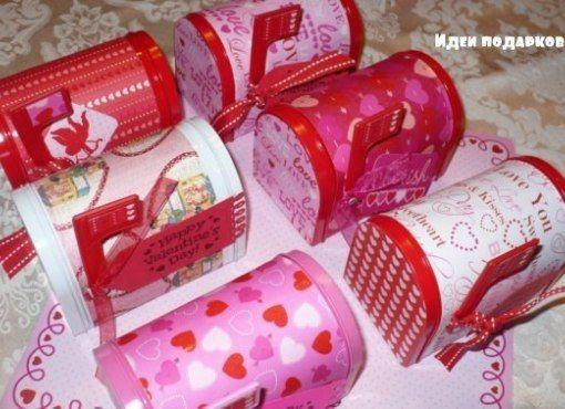 Caja con forma de buzón de correo