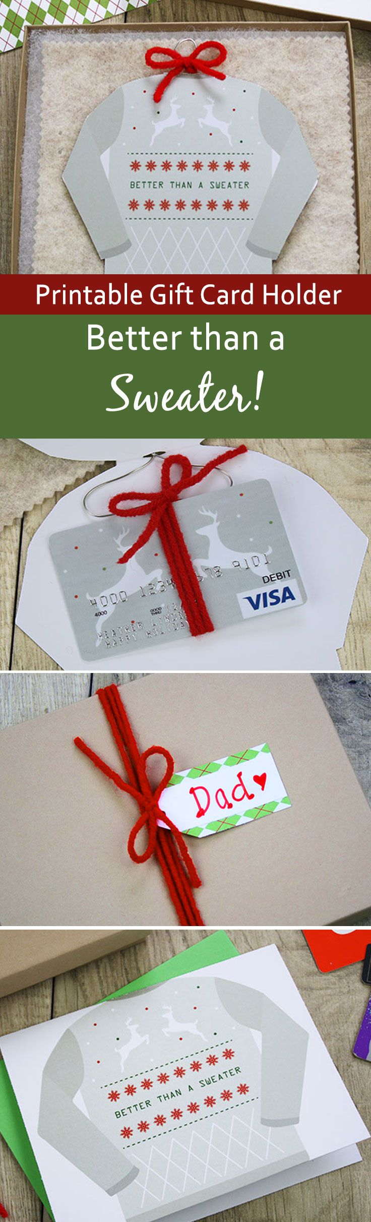 Best 25 restaurant gift cards ideas on pinterest gift card whats better than an ugly holiday sweater a gift card of course print restaurant xflitez Images