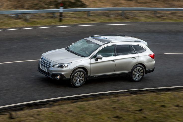 Subaru Outback 2015 UK - pictures | Subaru Outback cornering | Auto Express
