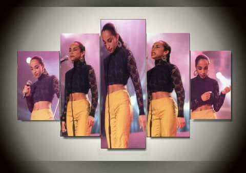 """ Ms. SADE ADU with PHILLIP X. WHITE at Atlanta, Georgia U S A ! ! ! "" ...."