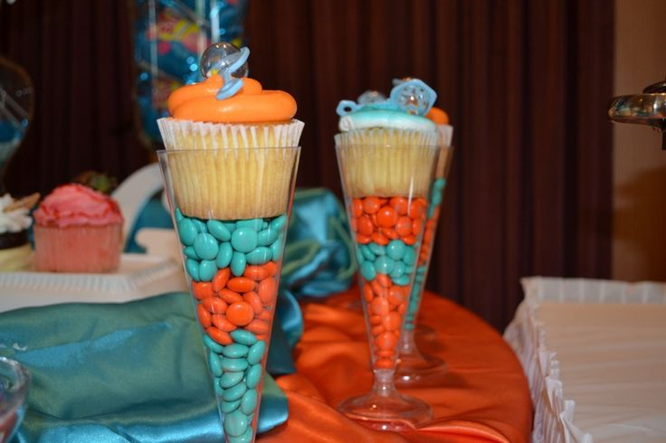 Cupcakes In Champagne Flute Entertaining Parties