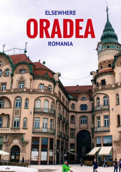 Explore the fascinating architecture of Oradea, Romania via @travelsewhere