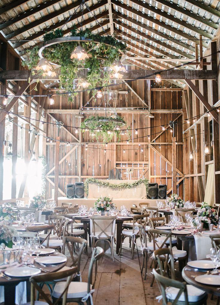 California barn wedding