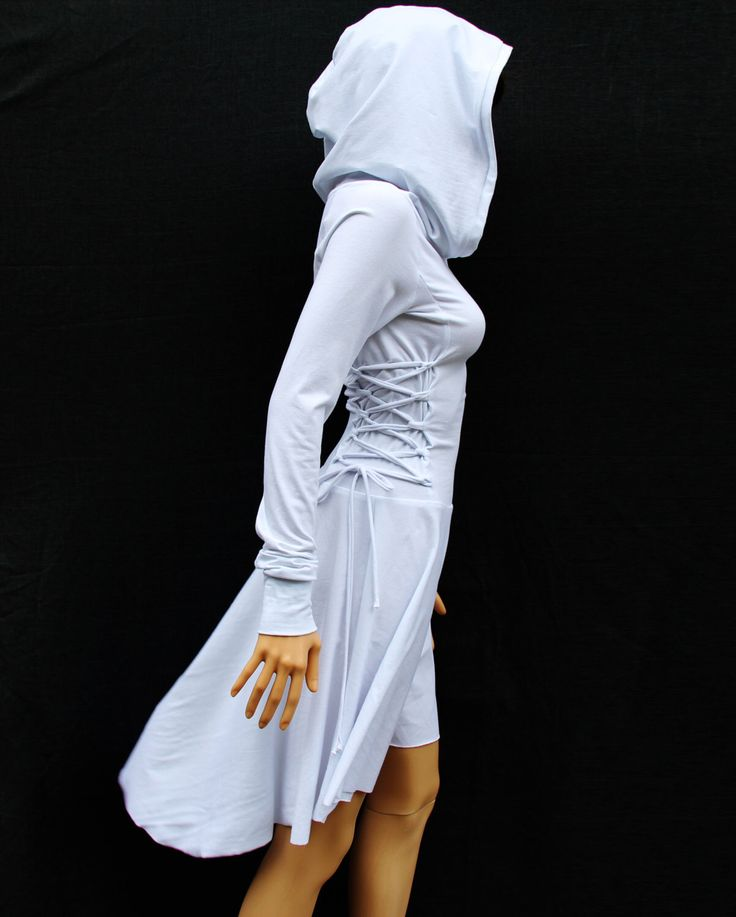 White Casual Dress / Cotton Dress by MIRIMIRIFASHION on Etsy https://www.etsy.com/ca/listing/194162437/white-casual-dress-cotton-dress