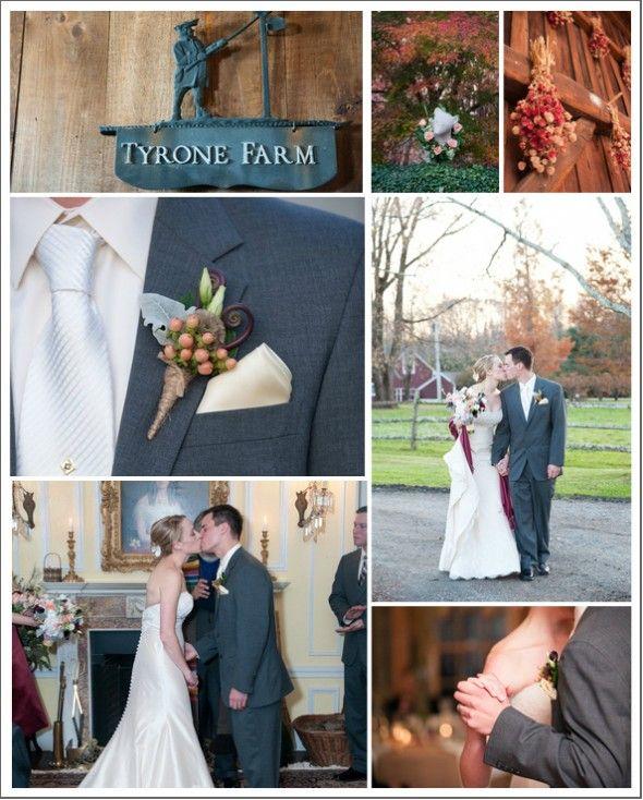 Winter Barn Wedding: