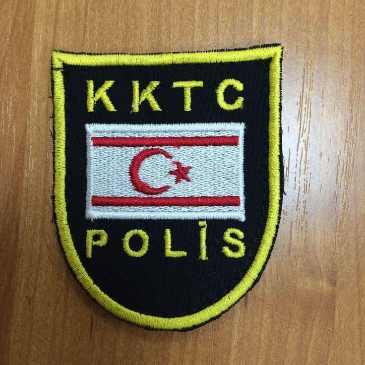 Patch police Turkish Republic of Northern Cyprus Polis SUPER RARITY   | eBay