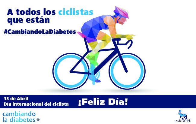 ¡Celebramos el Día Internacional del Ciclista, saludando a todos los que están #CambiandoLaDiabetes a través de este gran deporte!