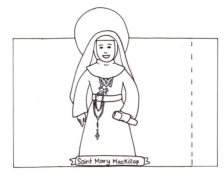 mary mackillop craft