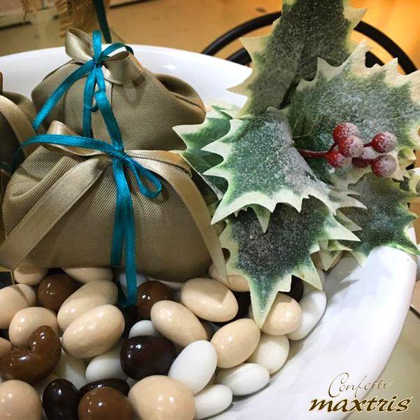 #confetti #maxtris #natale #cioccolato #chocolates #vassoio #bomboniera