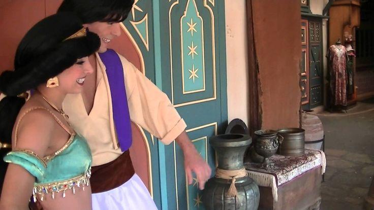 Meeting Aladdin & Jasmine Part 2