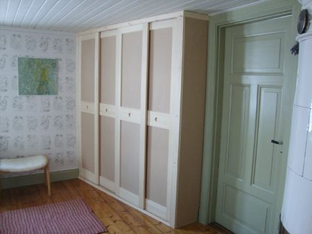 Here is the undecorated closet Våning 1 tr | Mitt Universum