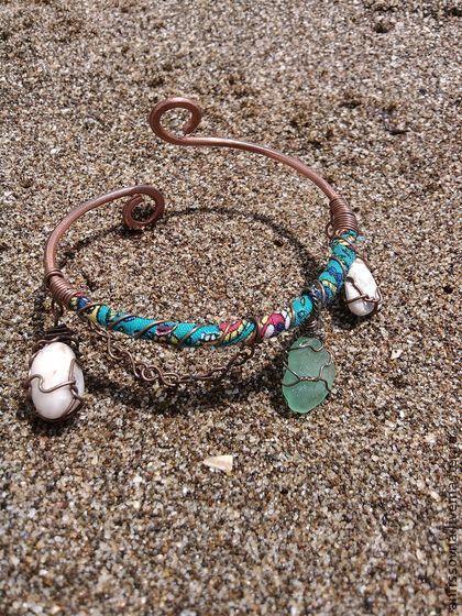 Шелковый путь - бохо,браслет бохо,бохо украшения,пляжные украшения,пляжный браслет