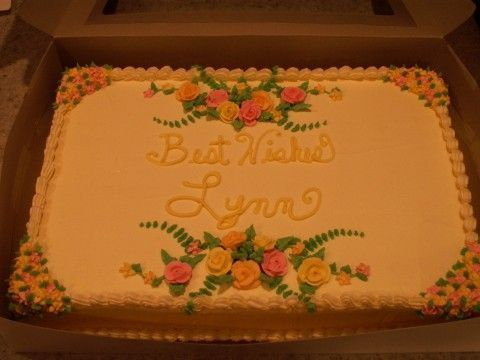Sheet Cake Designs For Retirement : 122 best images about Sheet cakes on Pinterest Sheet ...