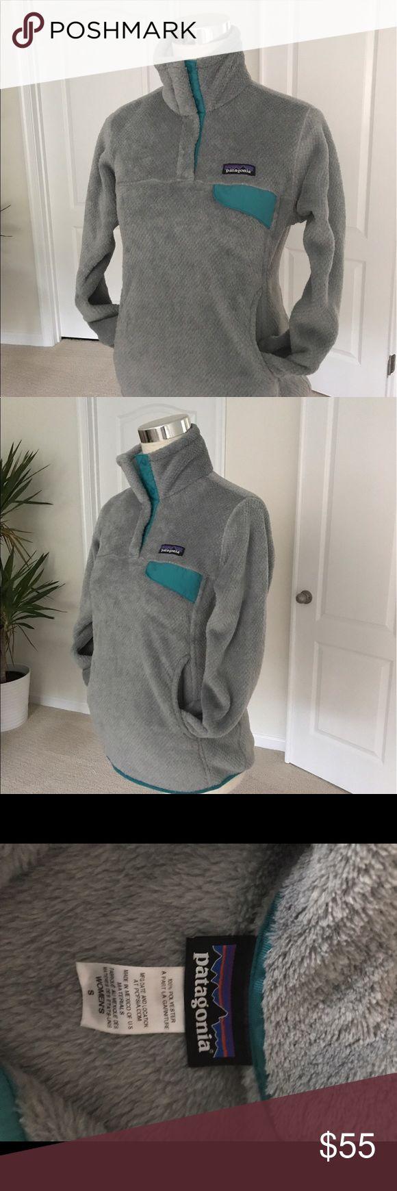 Patagonia Re-Tool Gray Fleece Sweatshirt. Snap front pullover sweatshirt. Patagonia Jackets & Coats
