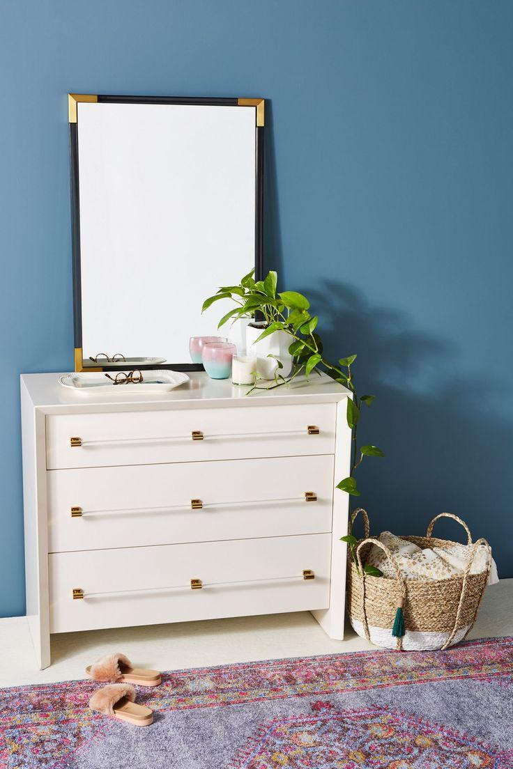 Merriton ThreeDrawer Dresser Unique bedroom furniture