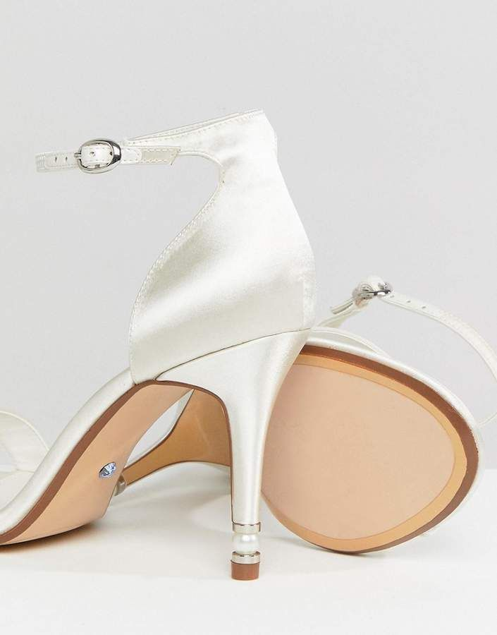933dc7387f0 Dune London Dune Bridal Bridal Wide Fit Two Part Heeled Shoe in Ivory   Bridal Wide Dune
