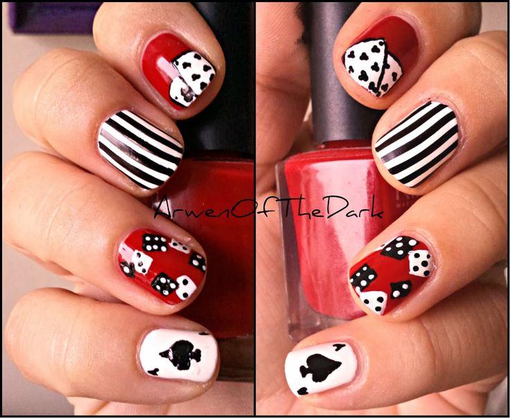 Poker Las Vegas Nail Art