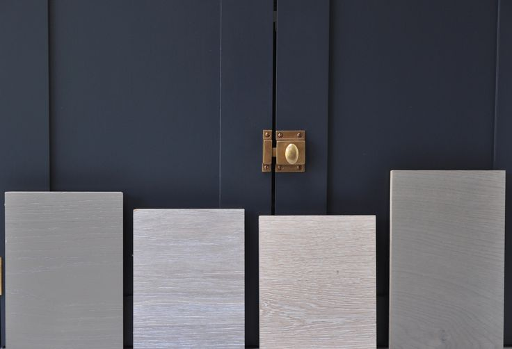 Page greys and whites work brilliantly with inky blues.  From left to right we have Dusk, Smoked Brushed & White, White Brushed and Drift Wood. Which one would you choose?