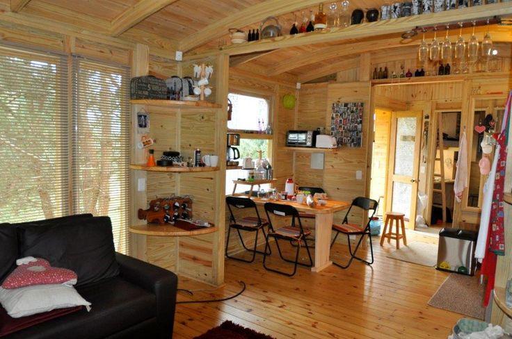 Interior Tranvía TDE #woodarchitecture #wood #madera #casasenmadera #arquitecturaenmadera http://www.tallerdensamble.com