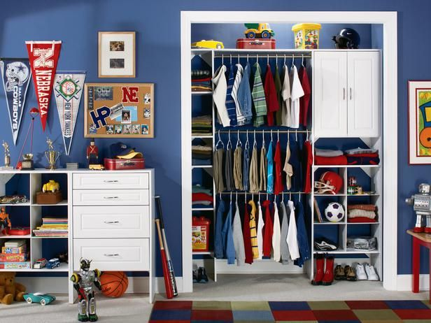 Kids' Closets: Clothing and Toy Storage for Boys and Girls : Page 02 : Interior Remodeling : HGTV Remodels