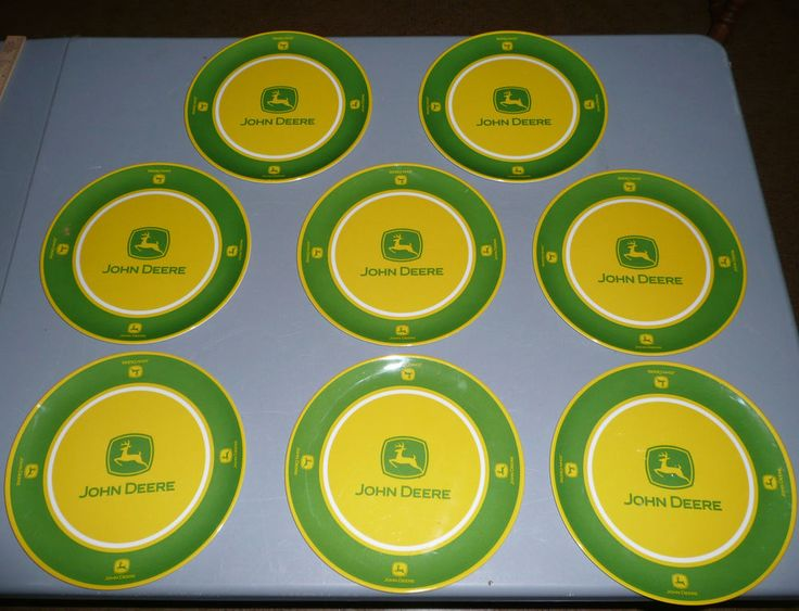 Lot of 15 John Deere Plates - 10-inch and 8-inch - Malamite & 11 best HOMCO images on Pinterest   Home decor Home interior design ...