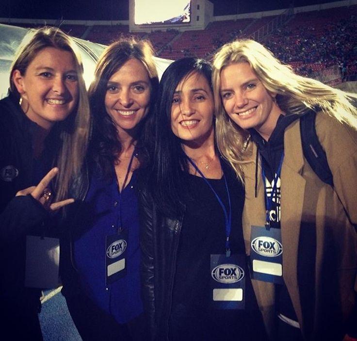 Marcela Sabat, Ma Elena Dressel, Carolina Gutiérrez y Javiera Acevedo
