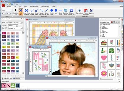 PCStitch: Premier Cross Stitch Software - Should work with Needle Point designing