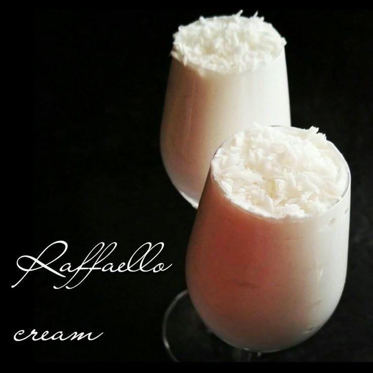 Chocolate Muffin Blog: Fit krem kokosowy Raffaello