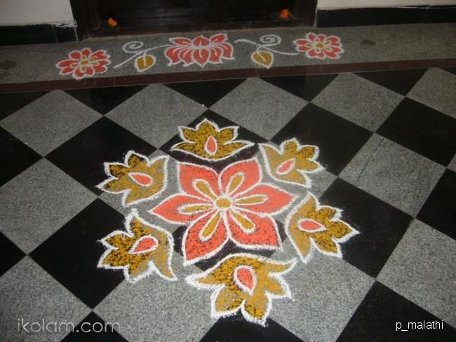 The 390 best images about rangoli on pinterest new year for Apartment kolam design