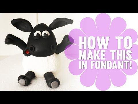 ▶ Learn how to make Shaun the Sheep / Timmy Time Cake Topper - Cake Decorating Tutorial - YouTube