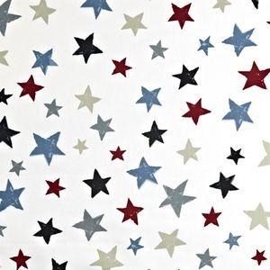 Superstar Graphite 100% Cotton 137cm wide | 64cm Curtaining