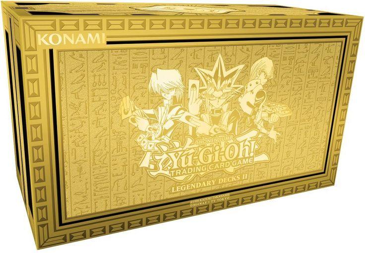 Yu-Gi-Oh Sealed Decks and Kits 183452: Yugioh Legendary Decks Ii #2 Box Yugi, Kaiba, Joey God Cards Exodia Sealed! -> BUY IT NOW ONLY: $34.95 on eBay!