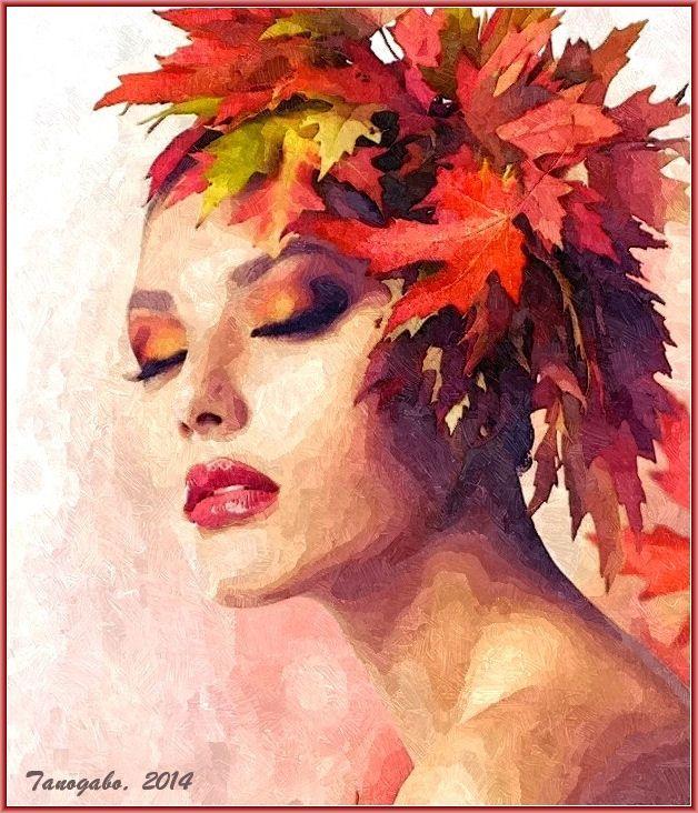 Autunno: una poesia ed un viso di donna