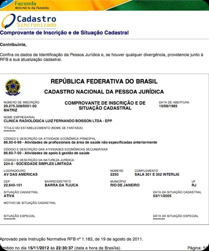 É um ABSURDO que o site Reclame Aqui ➤ http://www.reclameaqui.com.br não aceite o cadastro de uma empresa que tem CNPJ e não tem site - 2012 11 16    Para ficar impune se esconda na Web.