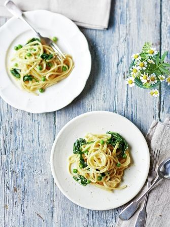 Try this vegetarian twist on the Italian classic carbonara, just as creamy and delicious as the original but filled with the added goodness of yummy…