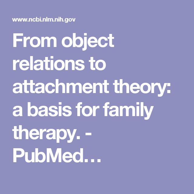 17 best ideas about Object Relations Theory on Pinterest ...