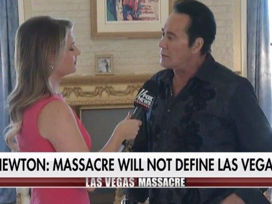Wayne Newton: There's a Seat Waiting in Hell for the Las Vegas Shooter