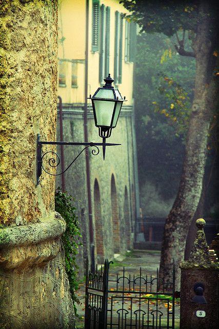 | ♕ | Historic village of Cetona - Tuscany | by © David Butali