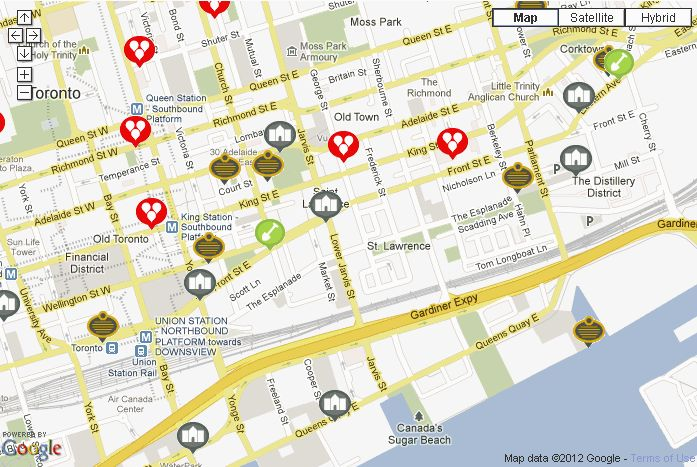 Heritage Exploration Map - Interactive Map of Heritage Plaques in Toronto
