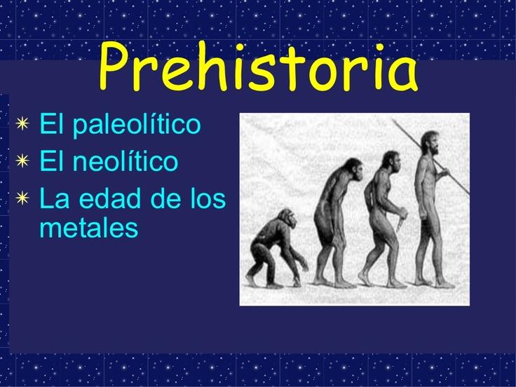 la-prehistoria by crabielsa via Slideshare