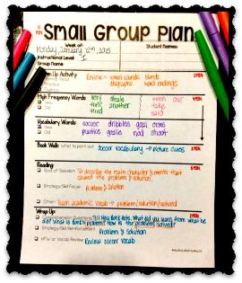 The Primary Pack: What can you do in a 15 minute small reading group??? [Plus a: READER FREEBIE]