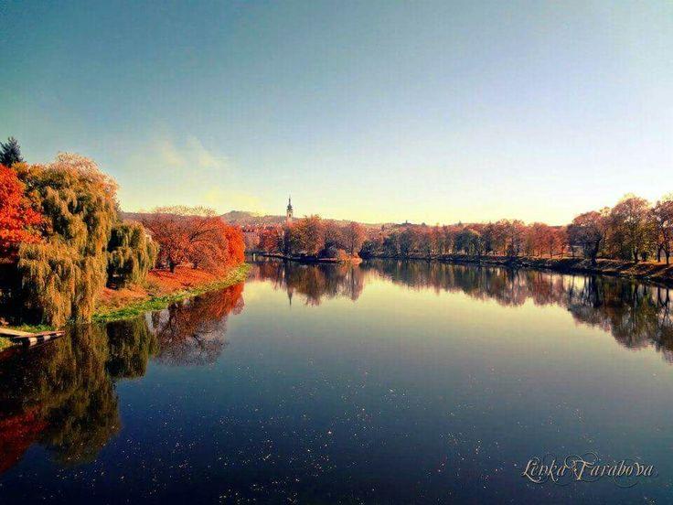 Pisek in autumn colours