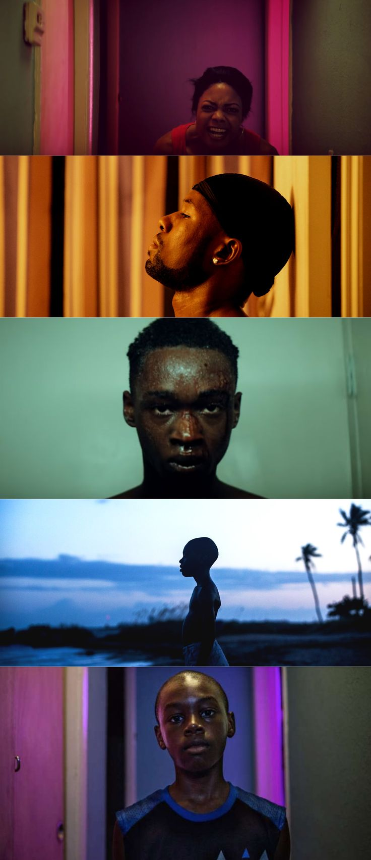 Moonlight / Coloring (2016), d. Barry Jenkins, d.p. James Laxton