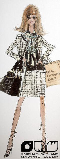 """Bloomingdale's Barbie (carrying a Macy's """"big brown bag"""") - Robert Best"""