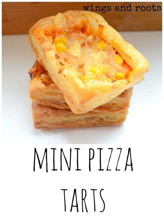 mini pizza tarts baby led weaning
