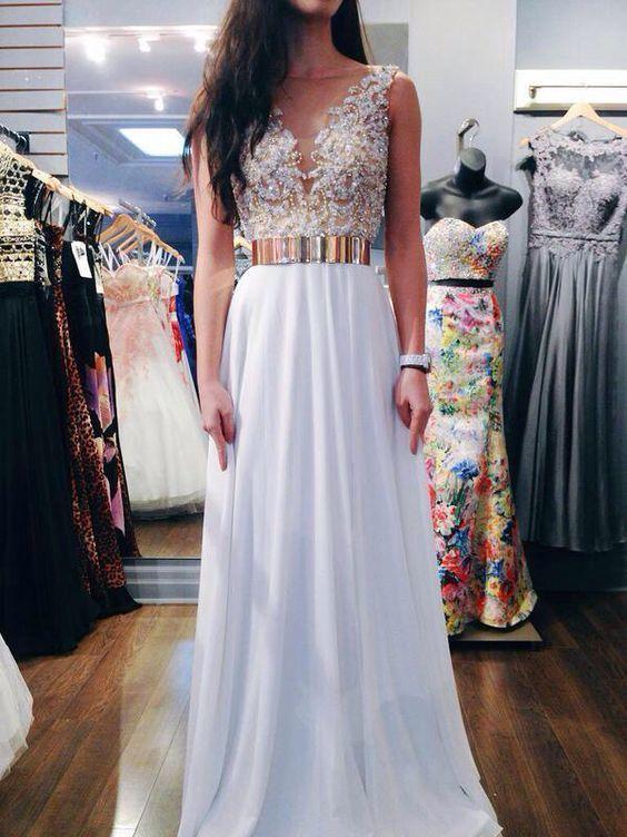 Long Prom Dresses,Chiffon Prom Dress,Charming Prom Dress,Evening Formal Dress…