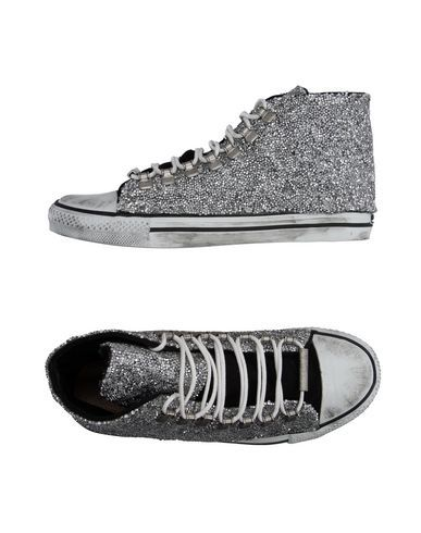 pebbled mid top sneakers Black Dioniso P2vH0