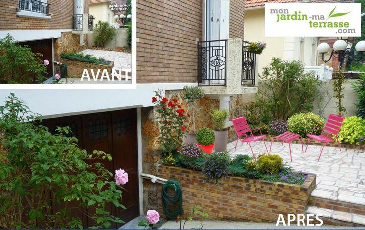 Les 69 meilleures images du tableau terrasse balcon sur pinterest - Amenager une terras ...