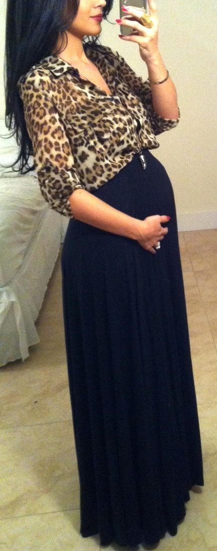 now that im pregnat it would look so cute to wear something like this